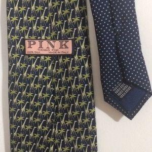 Thomas Pink Accessories - —SOLD—Thomas Pink Men's Designer Tie Giraffe